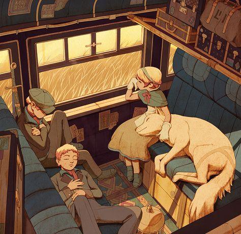Railroad on Behance