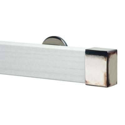 Art Decor Kontur Wood 72 In Non Adjustable Single Traverse Window