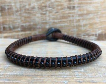 Items Similar To Guys Bracelet Men S