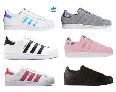 Details about adidas Originals Superstar Kinder Damen Sneaker Turnschuhe Halbschuhe Schuhe