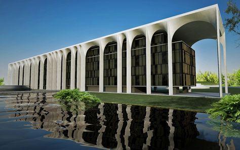 Palazzo Mondadori, Milano (1968 1975) Oscar Niemeyer