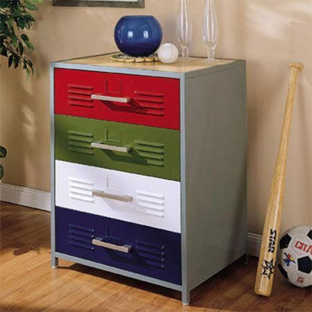 Wow Check Out This Hip Boys Bedroom Paint What An Inventive Design And Style Boysbedroompaint Sports Themed Room Kids Dressers 4 Drawer Dresser