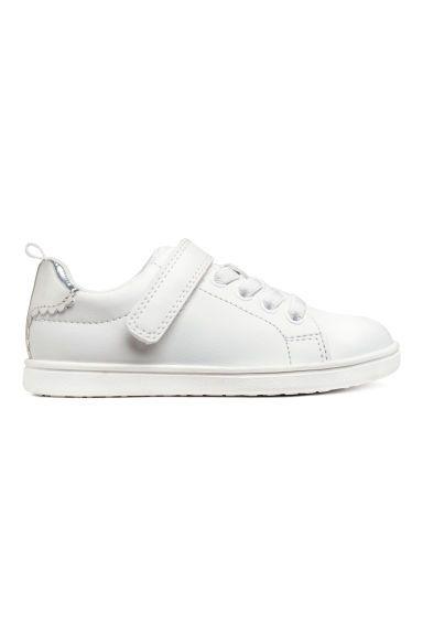 Buty Sportowe Bialy Dziecko H M Pl Sneakers White Sneakers H M