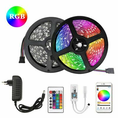 LED Strip Light 5050 SMD RGB 30Leds//m Waterproof WIFI IR Controller 12V