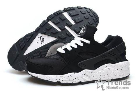Ink Black Nike Huarache Mens Air Womens White wOP0k8nX
