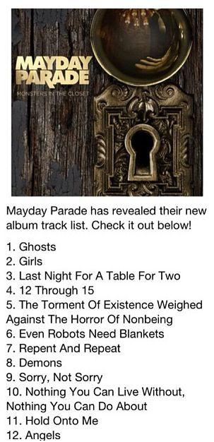 Song By Mayday Parade Lyric Sheets By Me Pinterest Mayday