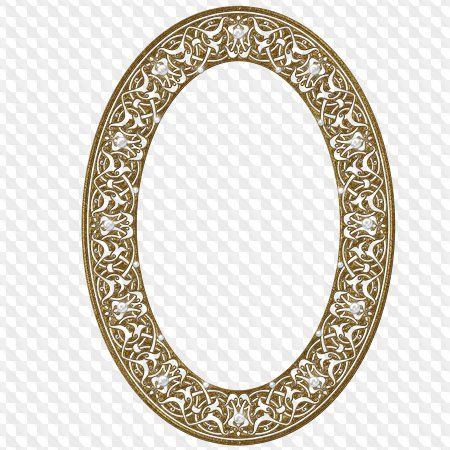Ornate Gold Frame Oval 1 By Eveyd On Deviantart Antique Picture Frames Gold Frame Vintage Frames