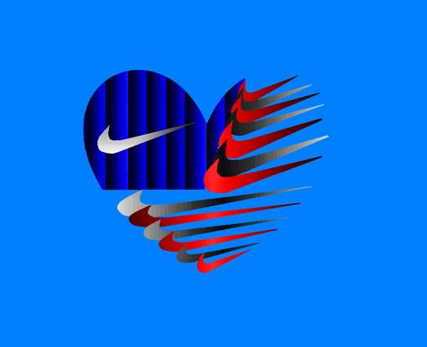 american flag made of nike logo with love sign nike rh pinterest com sick nike symbol sick nike symbol