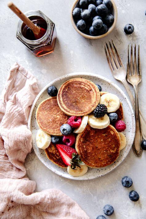 Vegan Protein Pancakes - Delight Fuel