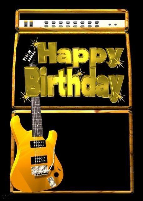 Birthday Quotes Notitle Happy Birthday Guitar Happy 15th Birthday Happy Birthday