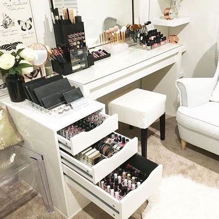 28 Diy Simple Makeup Room Ideas Organizer Storage And Decorating Makeup Room Decor Beauty Room Diy Vanity Mirror