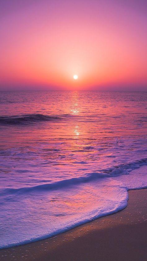 Wallpaper Pastel, Beach Sunset Wallpaper, Look Wallpaper, Ocean Wallpaper, Cute Wallpaper Backgrounds, Wallpaper Iphone Cute, Pretty Wallpapers, Sunset Beach, Iphone Backgrounds