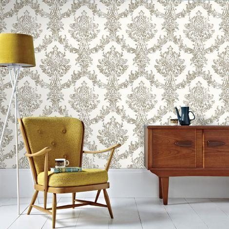 Boutique Heavyweight Vinyl Landscape Dove Grey Wallpaper Grey Wallpaper Gold Wallpaper Rose Gold Wallpaper