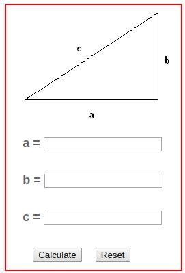 Pythagorean Theorem Calculator Pythagorean Theorem Basic Geometry Theorems