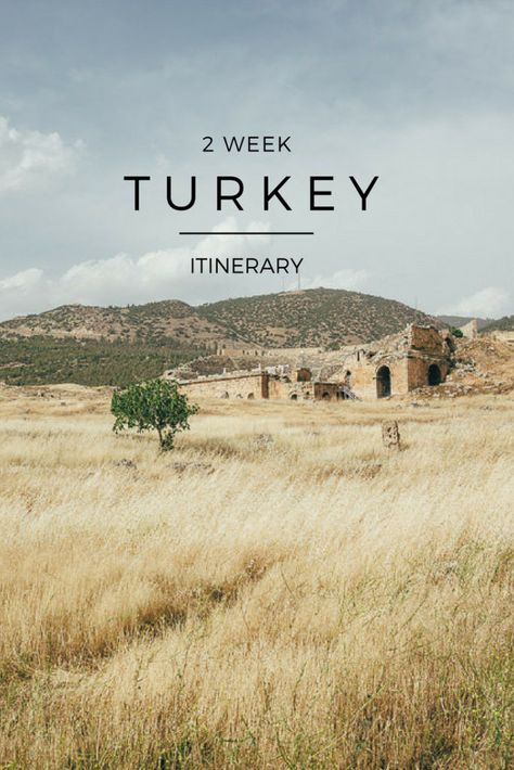 Our guide for an amazing 2 weeks in Turkey / Turkey itinerary 2 weeks / Turkey itinerary travel guide / #turkey