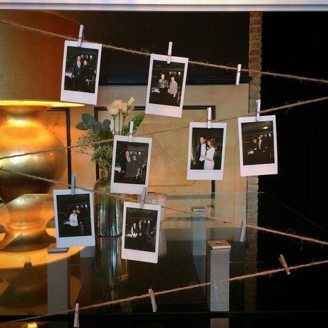 Polaroid Photo Trouwen Trouwlocatie Weddingdress