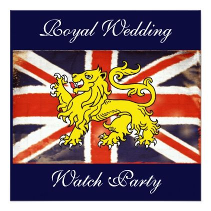 Harry & Meghan Royal Wedding Watch Party Invite | Zazzle.com ...