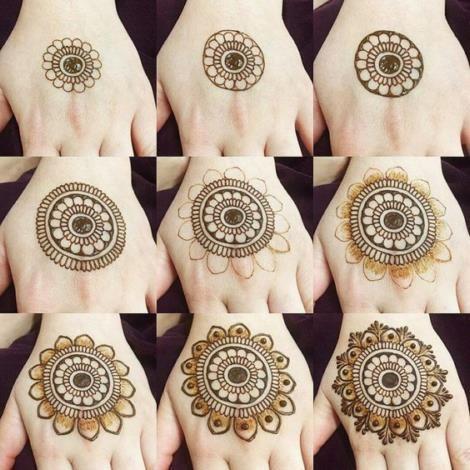 Latest Easy Henna Tattoo Designs Step By Step For Beginner Latest Easy Henna Tattoo Designs In 2020 Mehndi Designs For Beginners Mehndi Designs Beginner Henna Designs