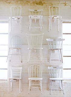 Rental Inventory In 2020 White Wooden Chairs Woven Dining