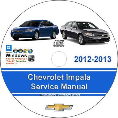 Advertisement Ebay Chevrolet Impala 2012 2013 Factory Workshop Service Repair Manual In 2020 Repair Manuals Ford Expedition Chevrolet Tahoe