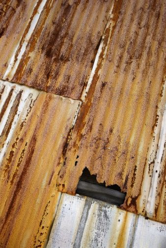 How To Rust Corrugated Metal Hunker Corrugated Metal Roof Panels Corrugated Metal Roof Metal Roof Panels
