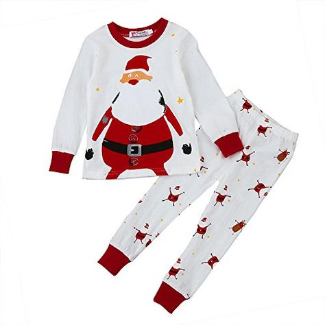 d39ad376ef Baby Clothes Set GOGOBO 2pcs Xmas Newborn Infant Baby Boy Girl Tops Pants  Christmas Home Outfits Pajamas Set 4 5T Red -- You can get additional  details at ...