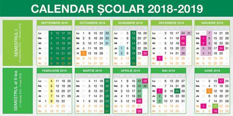 calendar decembrie 2019