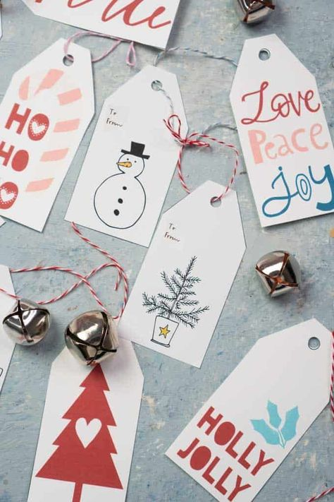 These free Christmas printables are a cost-effect way to decorate your home.