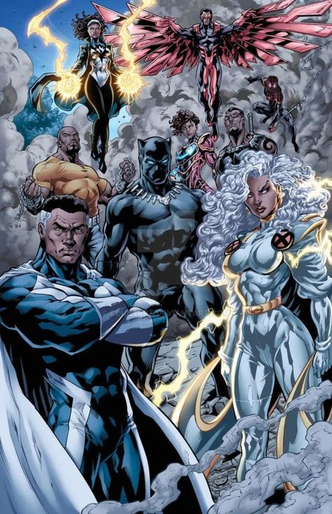 Marvel Comics Art, Marvel Comic Universe, Marvel Heroes, Gambit Marvel, Comics Universe, Marvel Avengers Assemble, The Avengers, Black Characters, Marvel Characters