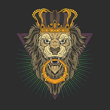 Lion Head Illustration Vector Graphic Aggressive Anger Angry Png And Vector With Transparent Background For Free Download Ilustrasi Grafiti Ilustrasi Gambar Naga