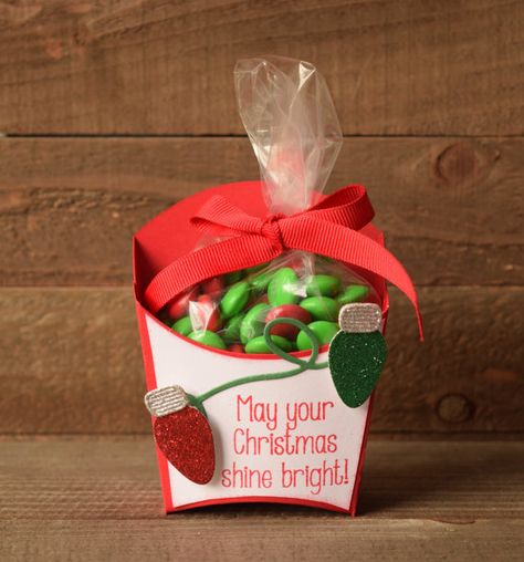Christmas Party Favor Christmas Treat Box by JessieDscraftythings