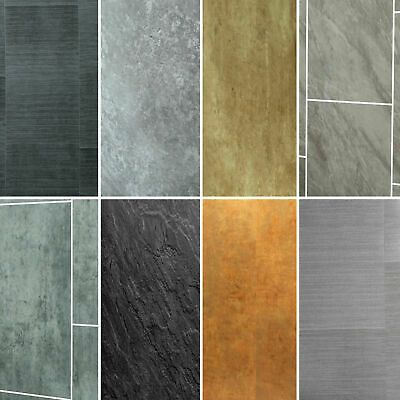 Grey Panels Anthracite Tile Effect Cladding Gold Hues Bathroom Wall Panels Pvc Bathroom Wall Panels Grey Panels Wall Panels
