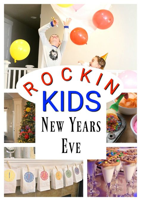 Awesome New Years Eve Ideas for kids and families! These are simple and fun activities and minute to win it games great for children! #newyearseve #newyears #newyearsideasforkids #NewYearsEveFamily #familyfun