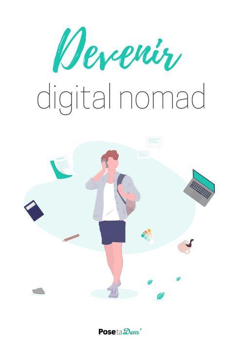Voyager en travaillant en devenant Digital Nomad - Pose ta Dem'