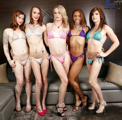 Crossdresser Bikini