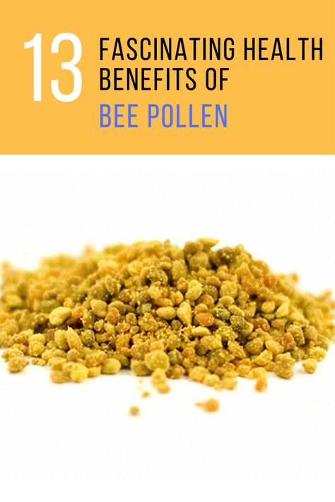 Bee pollen has not been publicize as much, even though it should be. Here are 13 awesome bee pollen benefits for trying this superfood. | IdeaHacks.com