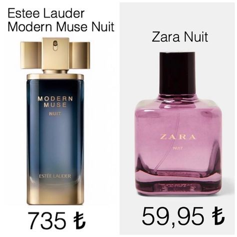 Redamancy On Instagram Estee Lauder Modern Muse Nuit Parfumunun Zara Muadili Perfume Dupe Makeupproductsf In 2020 Fragrances Perfume Perfume Collection Perfume