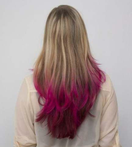Super Hair Tips Purple Blondes Ideas Hair Dip Dye Hair Dip Dye
