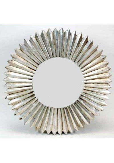 Espejo de Oro Pequeño geométrica