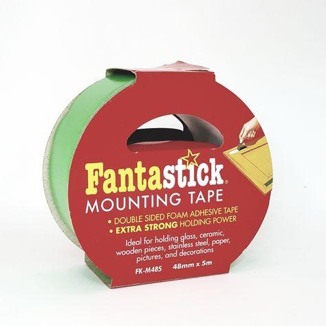 شطرطون ابو وجهين او دبل فيس لتعليق اللوحات الفلين والورق Foam Adhesive Mounting Tape Adhesive Tape