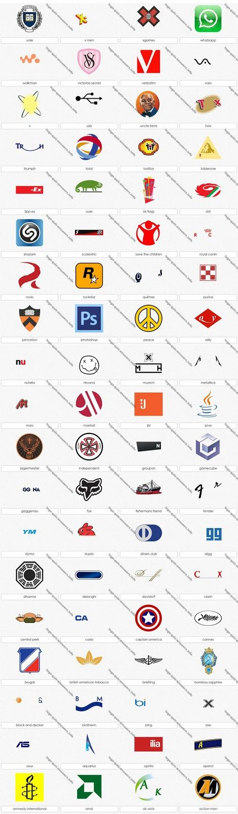 Parufile Logo Quiz Answers 2013 Logo Quiz Answers Logo Quiz Logo Quiz Games