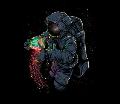 Jellyspace? you'll know it! @teefury