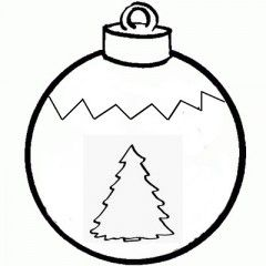 Stampa Foto Su Palline Di Natale.Palline Di Natale Da Colorare Palline Da Colorare Disegni Da