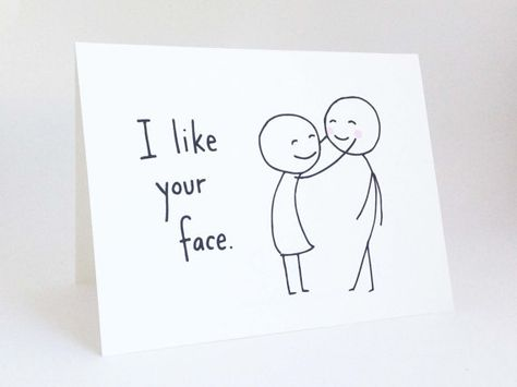 Funny Valentines Day Card // Cute Love Card by EuclidStreetShop, $4.00