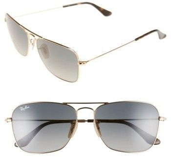 3d4f06984ae kate spade new york Marion Semi-Rimless Aviator Sunglasses ( 150) ❤ liked  on Polyvore featuring accessories