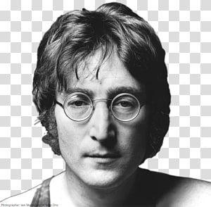 Grayscale Of John Lennon John Lennon Musician Plastic Ono Band The Beatles Bob Marley Transparent Background Png Clip Plastic Ono Band Meme Faces John Lennon