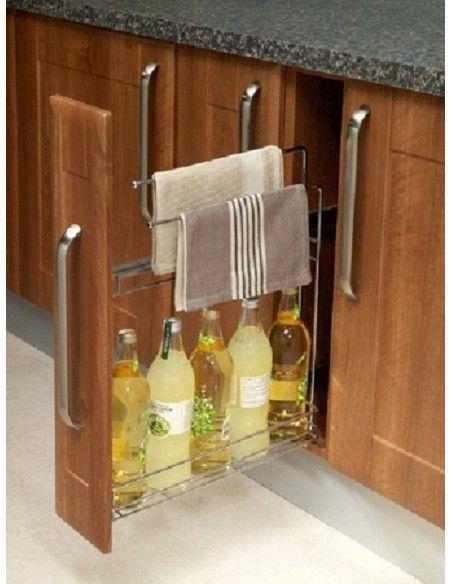 Narrow Kitchen Base Unit Towel Rail
