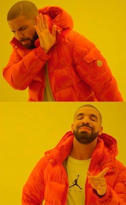 Drake Meme Piadas Ruins E Engracadas Memes Drake