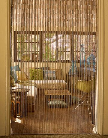 Top Quality Bamboo Beaded Door Curtains Blinds Fly Insects Curtain Wooden Funkys Jd Salon Furnishings In 2019 Patio