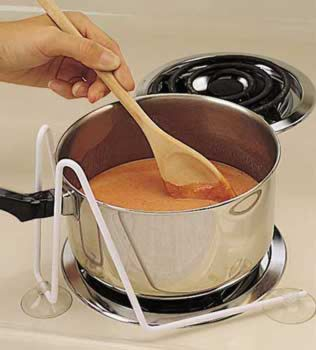 Pot Stabilizer Stove Top Pot Holder For One Handed Cooking